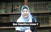 Latina Aceptando El Islam.