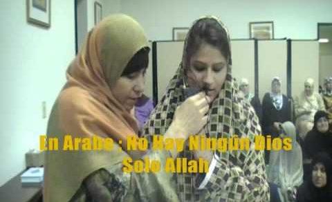 Una Hermana De Uruguay convirtió a el Islam .