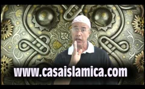 Omar ibn Al Khatab en frente de Satanas
