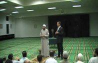 Un hombre de  Escocia acepto el Islam .
