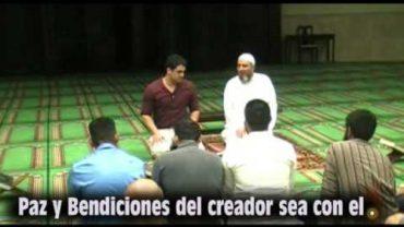 El Hermano Luis Acepto el Islam .