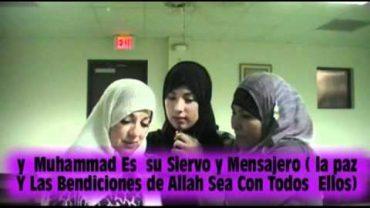 Una Madre Hispana Y Su Hija Aceptaron El Islam..
