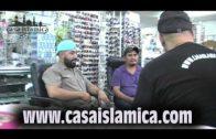 Un Mexicano se convirtió a el islam.