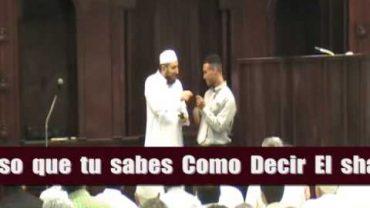 Puerto Riqueño Acceptó El Islam !